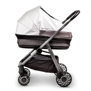Bliss canopy on carrycot