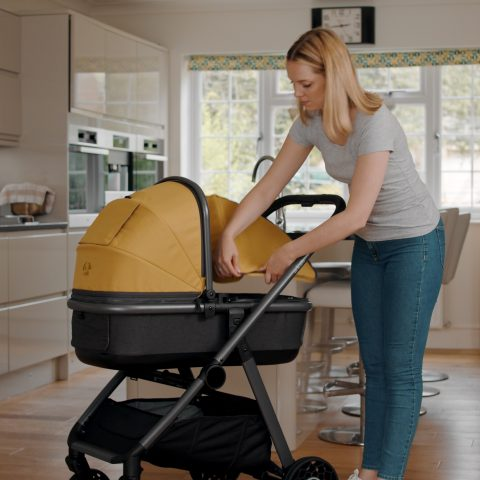 Ark carrycot cover mustard
