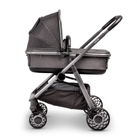 Ark grey pushchair with carrycot