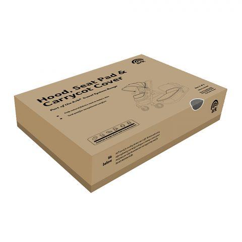 Ark grey packaging