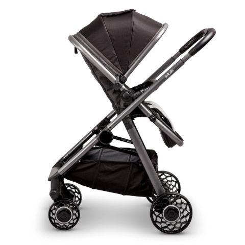 Ark black pushchair parent facing