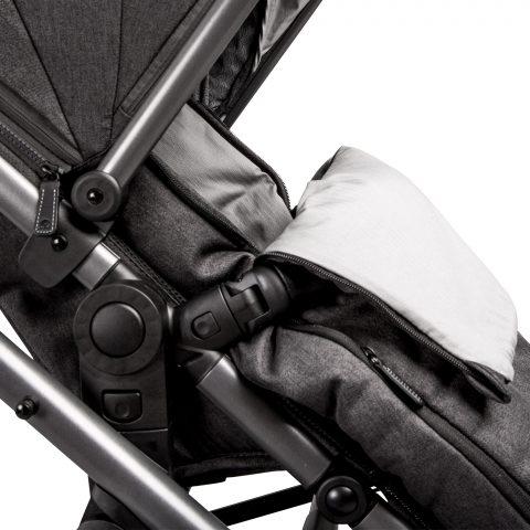 Ark snuggle pushchair folded