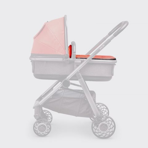 Ark-Spare-Parts-Carrycot-Cover-Coral-Grey