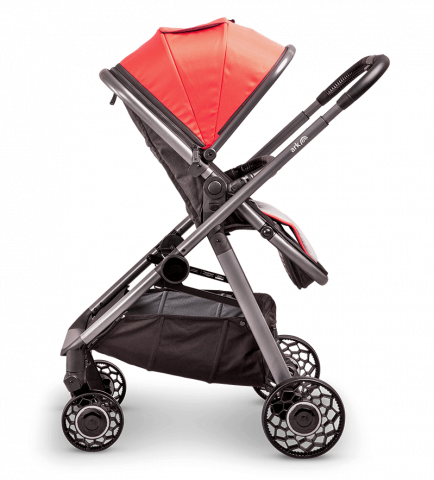 ARK-pushchair-coral-parent